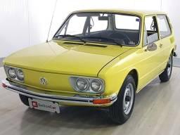 Volkswagen 1600 - Amarelo - 1977