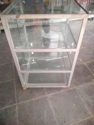 Vitrini de vidro cristaleira