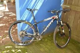 Scott Scalle Carbon 2015-29 Tam M - vendo ou troco por bike full com peso max 11.5kg