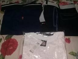 Bermudas e camisa Novas