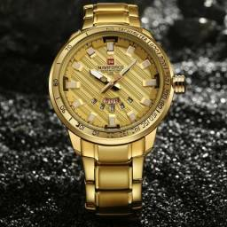 Relógio Masculino Naviforce prova d'água ORIGINAL