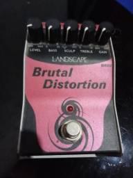 Pedal de Distorção p/ Guitarra