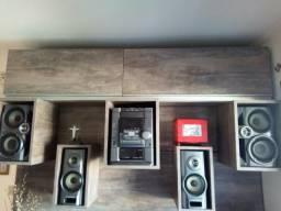 Sony 4400/ Trio CD, Karaokê, toca fitas