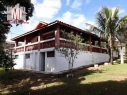 Ch0139 - Excelente chácara com escritura, 03 dormitórios, pomar, playground e ótimo bairro