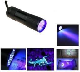 Lanterna Ultra Violeta Detecta Escorpião 9 Leds