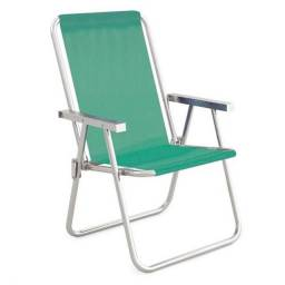 Cadeira Alta Conforto Mor, Alumínio, Anis - 2162