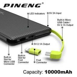 Carregador portatil Power Bank Pineng PN-951 10000mah