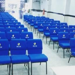 Cadeiras para igreja e Auditorio