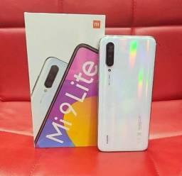 Celular Xiaomi Mi 9 lite 6RAM 64GB - Branco e Cinza + película brinde