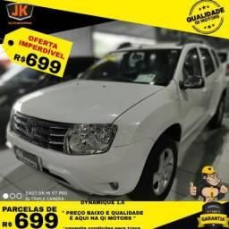 Renault Duster Dynamique 1.6 Branca - 2013 Direção Hidraulica Ar condicionado - 2013