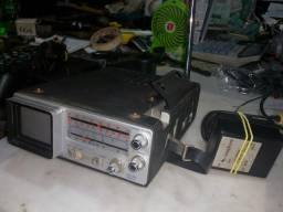 Antiga e rara TV com rádio broksonic 12 volts linda