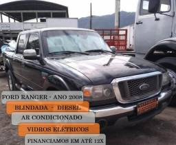 Carro Ford Ranger Limited 3.0 XLT cab dupla 4x4 - 2008
