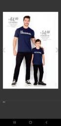 Camisetas família Marka da paz