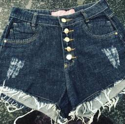 Short ZoomJeans Black. Tamanho 42