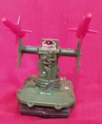 robô lança mísseis comandos em ação