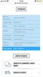 MONTANA 1.4 8V Conquest ECONOFLEX 2p 2010. Branco