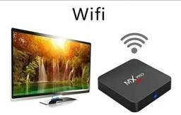 TV Box 5G - 32gb -Transforme sua TV em Smartv - Netflix, YouTube e net