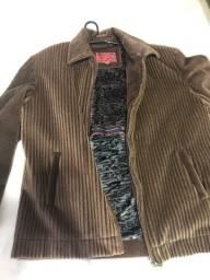 Jaqueta de pele sintética