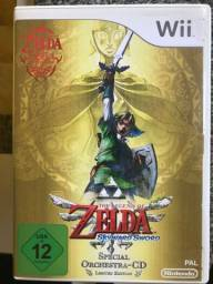 The Legenda Of Zelda Skyward Sword 25th Anniversary - Semi Novo - Nintendo Wii comprar usado  Mesquita