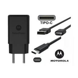 Carregador Moto G5 S Plus Turbo Original Usb Power Motorola