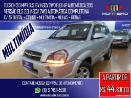 Hyundai Tucson 2.0 Mpfi GLS 16v 143cv 2WD Flex 4p Automática Completona C/ Multimídia
