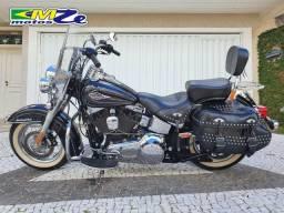 Harley Davidson Heritage Classic 2011 Preta com 49.000 km
