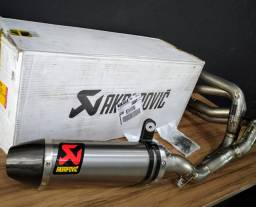 Escapamento Esportivo Full Akrapovic Honda Cbr 1000 RR Full Titanium
