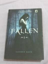 Livros da saga fallen ( fallen, tormenta, paixão)