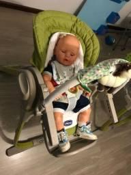 Cadeira Chicco de descanso e alimentação