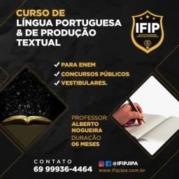 Curso de Redação + Língua Portuguesa