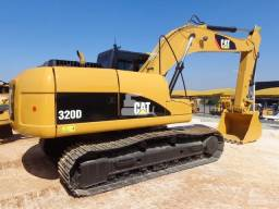 Escavadeira 320 d caterpillar 2012 unico dono
