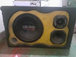 Vendo caixa de som mais módulo 500 reais