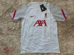 Camisa Liverpool Treino 2020/2021