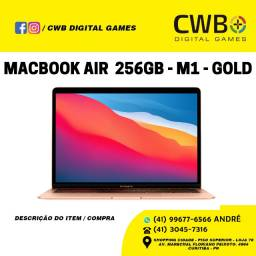MacBook Air 2020, M1. Gold. Garantia Apple. Loja Física