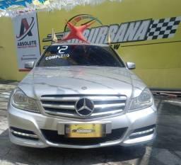 Título do anúncio: Mercedes C 180 impecável Ac.moto carro Parcelo!