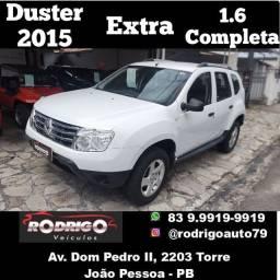 Título do anúncio: Duster 1.6 2015 Extra