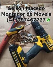 Título do anúncio: Montador de Móveis, Profissional Gelson!