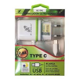 Título do anúncio: Carregador X-Cell USB C