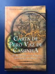 Livro Carta de Pero Vaz de Caminha