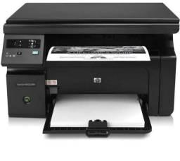Título do anúncio: impressora hp laser m1132 otimo estado