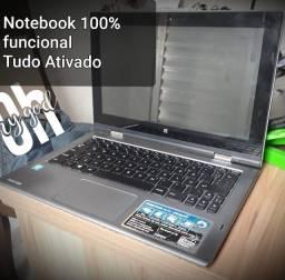 Título do anúncio: Notebook Positivo Duo ZR3630 com 4GB de memório RAM, 32GB de armazenamento interno