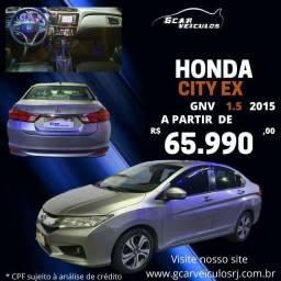 Título do anúncio: honda city ex 1.5 cvt  completo  automático  com gnv