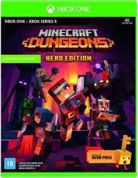 Minecraft Dungeons - Inclui Hero Pass - Novo Lacrado - Mídia Física