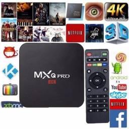 Título do anúncio: Transforma Sua Tv em Smart Tv Box 4k 5G 128gb 8G Ram MXQ Android 10.1