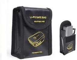 Saco Anti Chamas Safe Bag Para Bateria Drone Dji Mavic Pro
