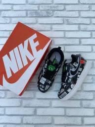 Título do anúncio: Tênis Nike Air Force One Couro Design