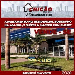 Título do anúncio: Apartamento de auto padrão no residencial soberano pronto pra você morar