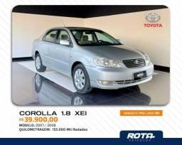 Título do anúncio: Corolla Xei 1.8 Automático 2008