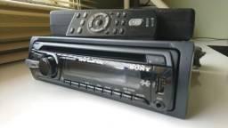 Rádio CD Player Sony Cdx-GT35 U Com Entrada USB, AUX e Controle!