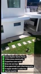 Título do anúncio: Duplex Santa Paula, 3 Quartos